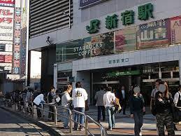 JR新宿駅で出会い