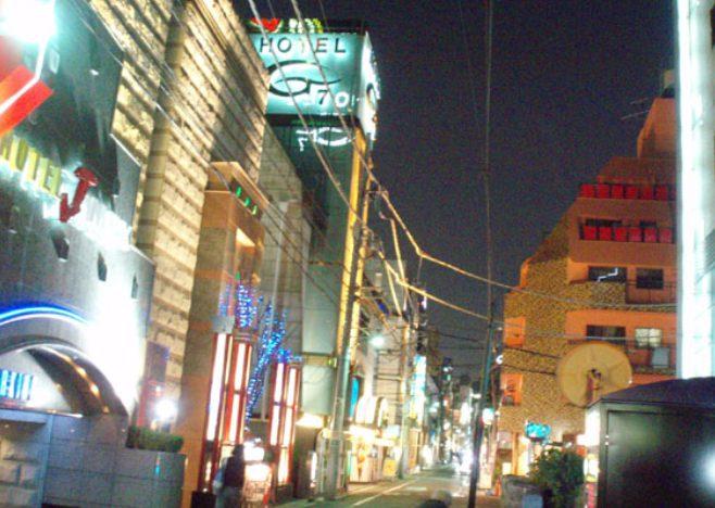 新宿歌舞伎町のラブホテル