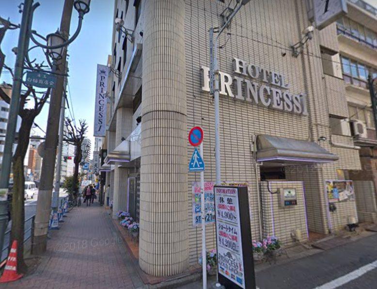上野のラブホテルPRINCESS1世