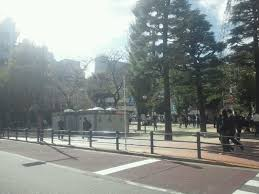 豊島公会堂前の公園