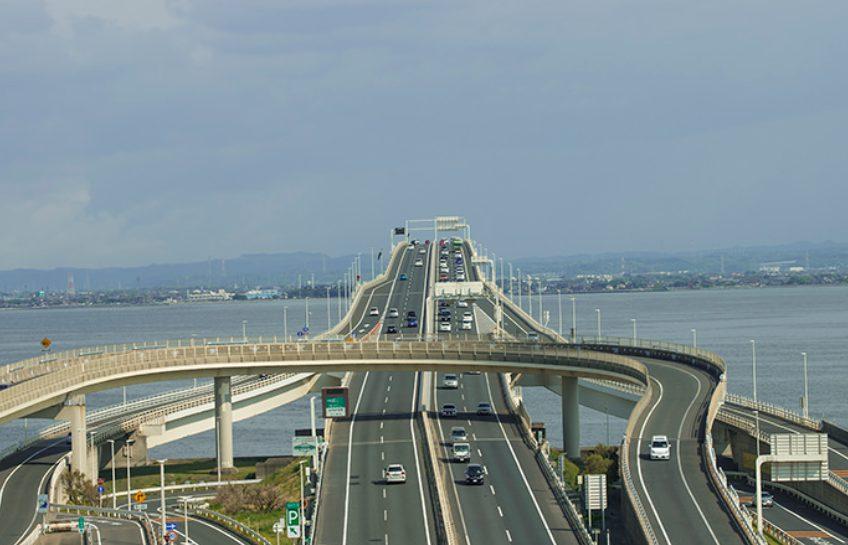 4Pするた為に東京湾アクアラインを使って千葉県木更津へ