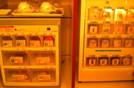 ラブホテルの自動販売機