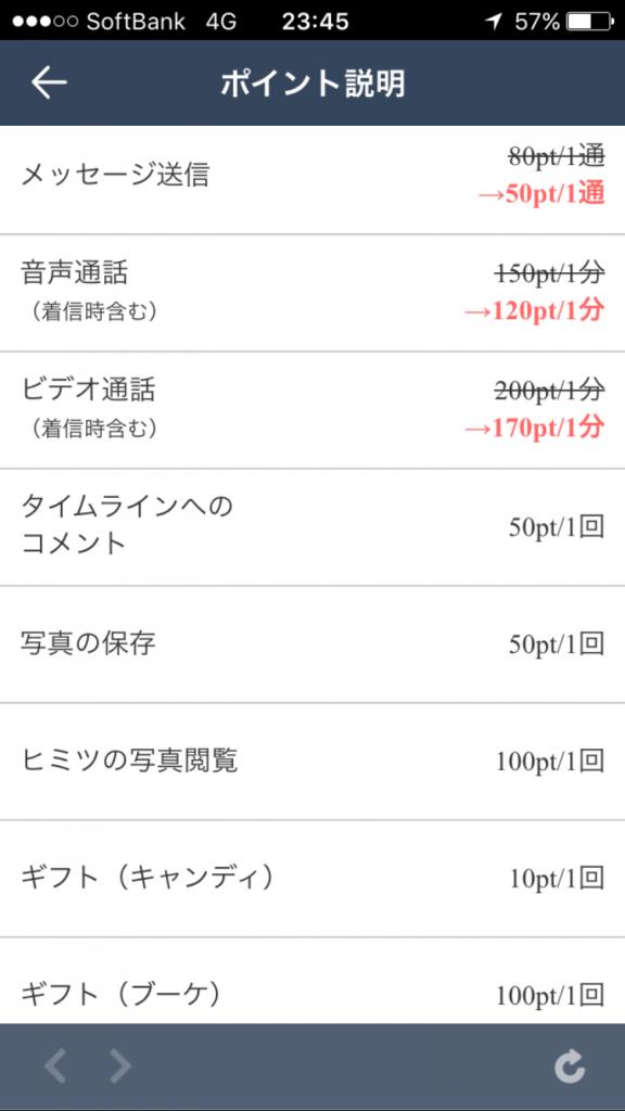 ミーツ-ビデオ通話やチャットで出会えるマッチングSNSアプリ料金表