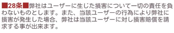 二人のチャット☆暇つぶし・恋活・友達探しに無料出会系アプリ利用規約28