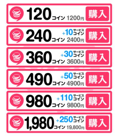 出会いバイブル-出会系アプリ無料登録id交換即会いができる!料金表2