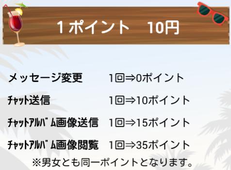 ピーチチャット◆出会系アプリ無料ひまトーク料金表2