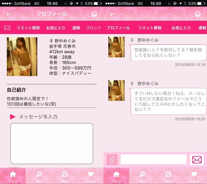 登録無料でフレンド探し-テガミ-出会いアプリ!匿名ID交換サクラの野中めぐみ