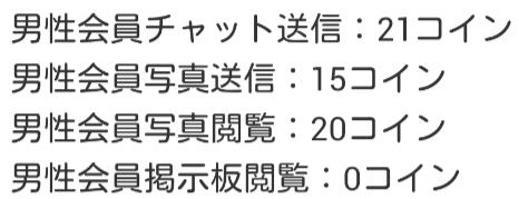 出逢いチャット-inちゃっと・婚活&恋活出会系料金表