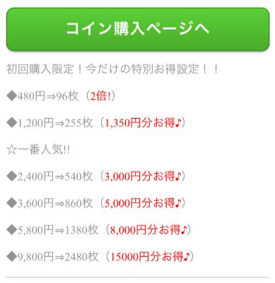 悪質出会い系アプリ「恋ナビパートナー」料金一覧