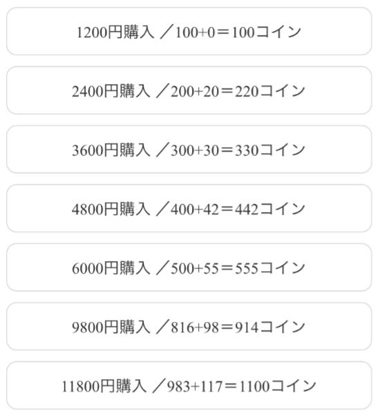 悪質出会い系アプリ「ピーチチャット」料金一覧