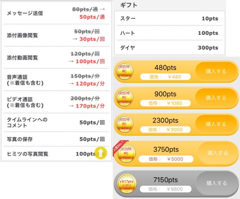 ビデオ通話で出会えるアプリ、大阪livetalk料金体系