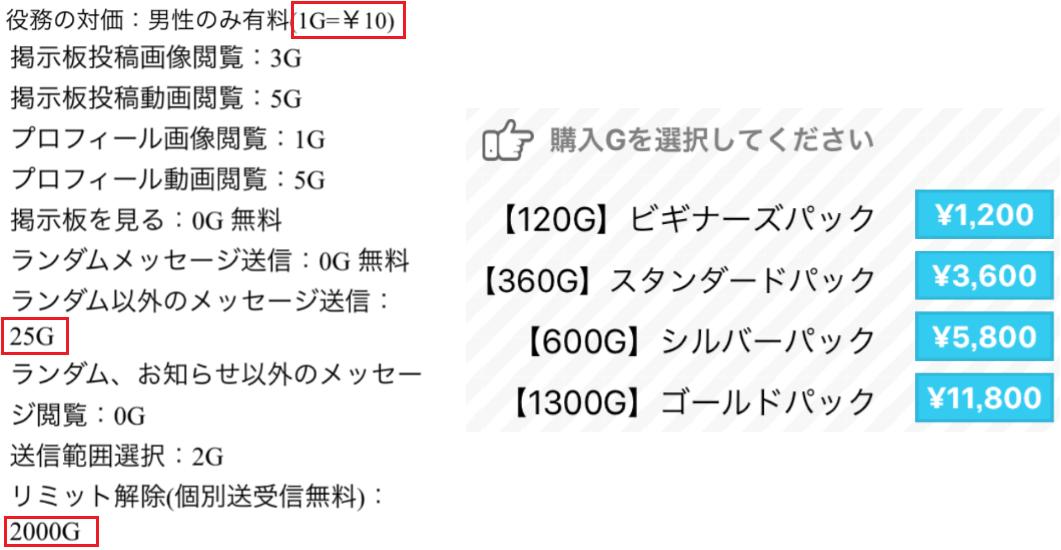 出会い無料の【マッチ】オトナ用チャットsnsアプリ!料金体系