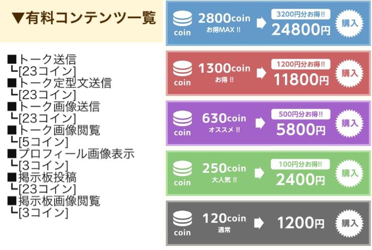 【スマチャ】happyな出会いが探せるsnsチャットアプリ!料金体系