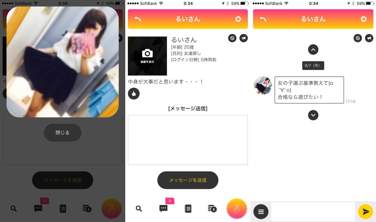 ソーシャルネットワーキングシステム(sns)のfeeling【フィーリング】サクラのるい