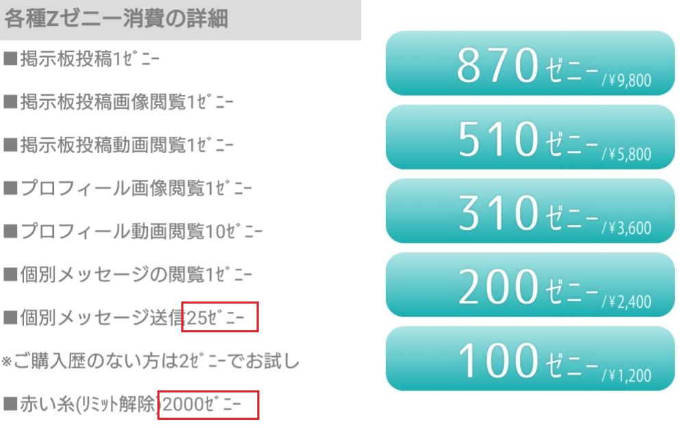 サクラ詐欺出会い系アプリ「Jump」料金体系