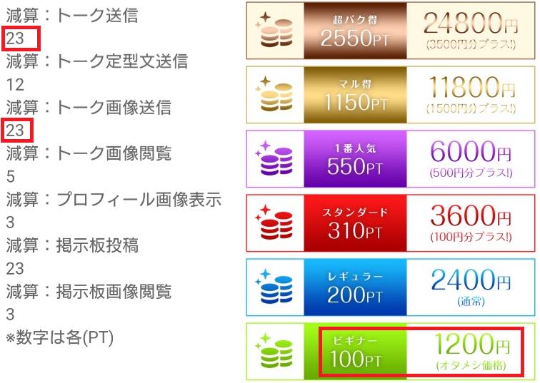 MITAME(見た目)サーチアプリ料金体系