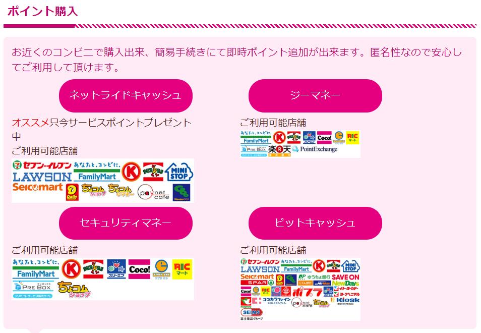 犯罪詐欺出会い系サイト「Candy」コンビニ決済