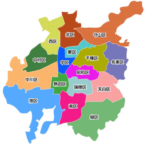 愛知県内での出会いを見つける方法名古屋市の地図