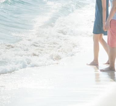出会い系アプリの夏デートは海
