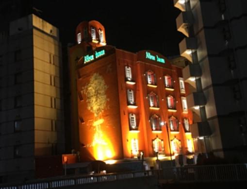 町田駅南口のラブホテル街