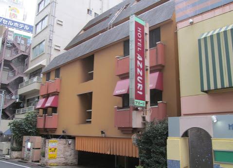 歌舞伎町のホテルアズーリ