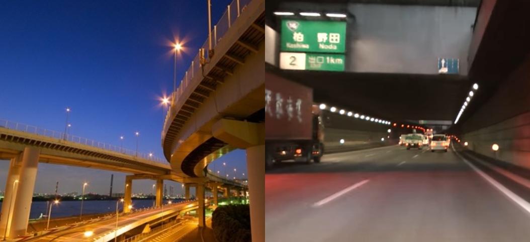 PCMAXで出会った女性に会うために高速道路で移動