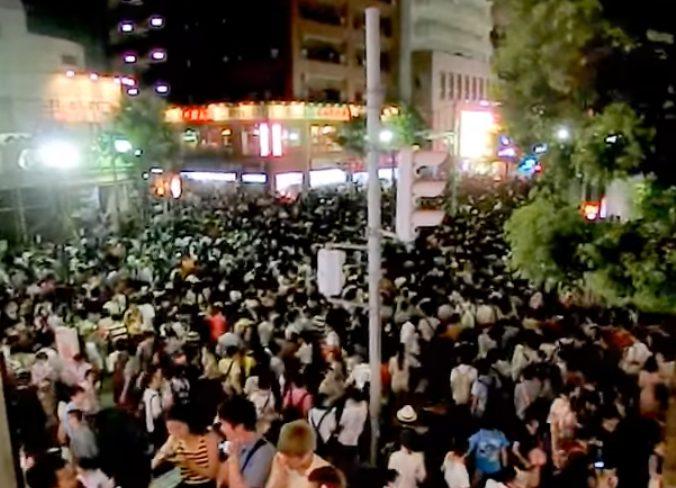 江戸川区花火大会篠崎駅の混雑