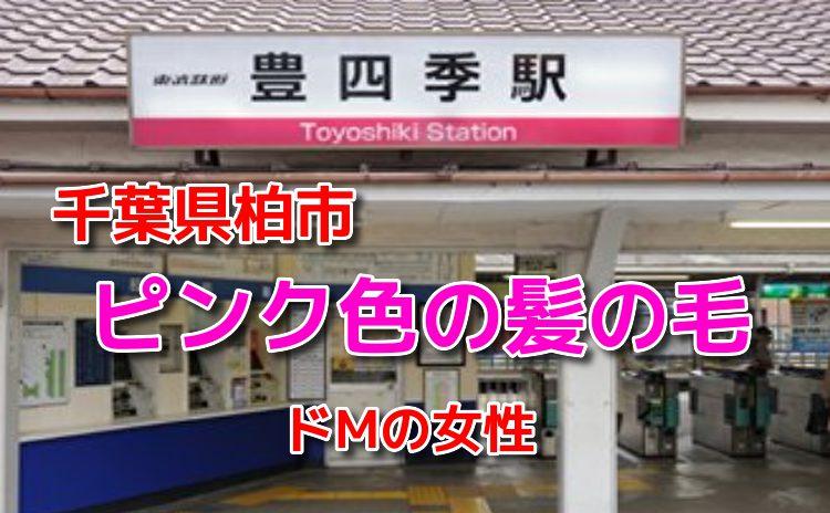 千葉県柏市の豊四季駅で待ち合わせ