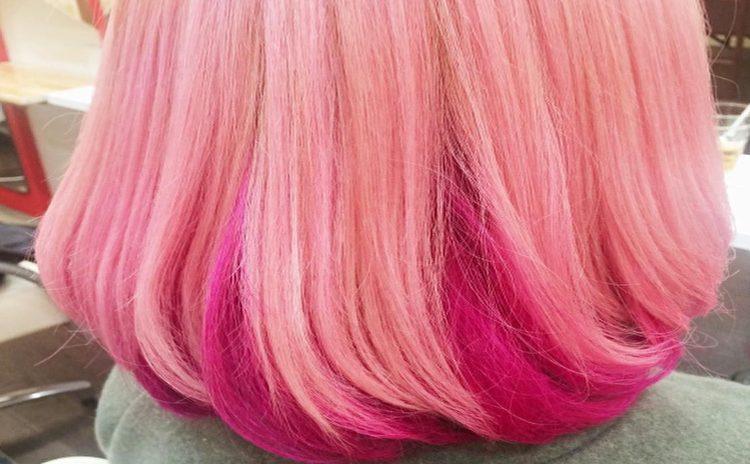 メルpラで出会ったピンク色の髪の毛の21歳