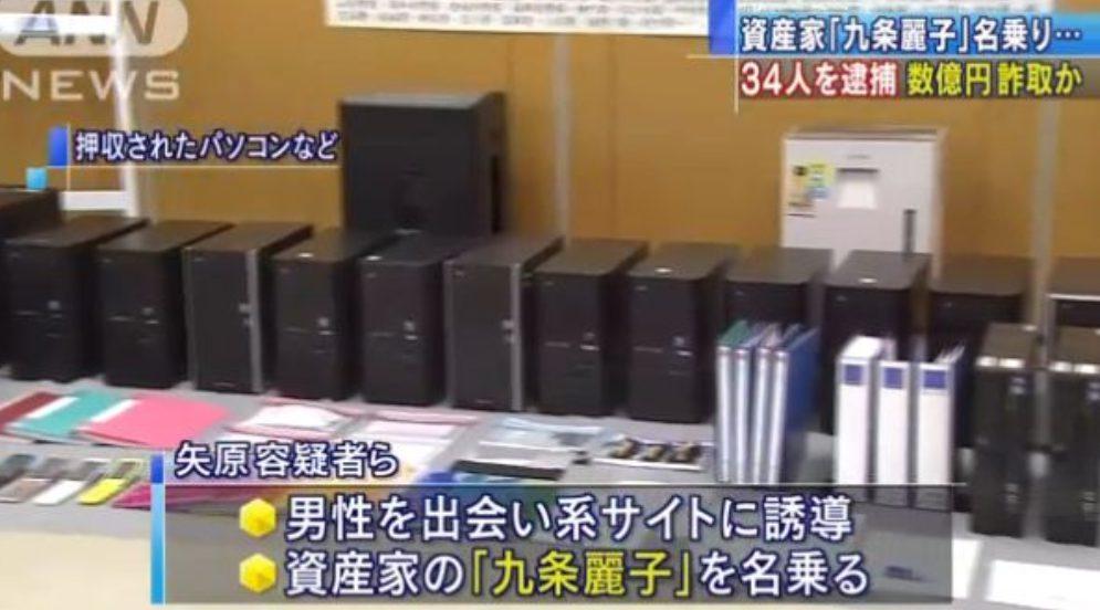 出会い系のサクラ「資産家九条麗子事件」