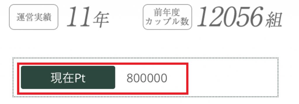 マイルド運営するサクラ詐欺出会い系サイト「Land」800000ポイント