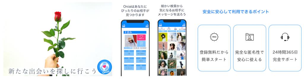 悪質出会い系アプリ「Oniai」