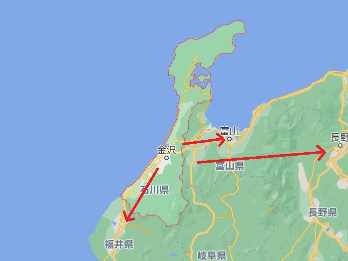 石川県内の出会い