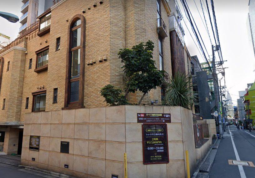 歌舞伎町のラブホテル