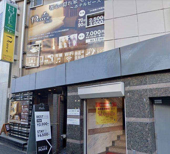 五反田のラブホテル
