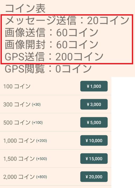 from39 〜39歳からの大人の出逢い〜料金体系