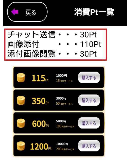出会い系アプリ「グラマラス」の料金体系
